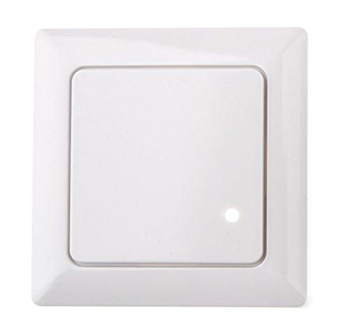 HUBER MOTION 8 HF Radar Bewegungsmelder für Innen 180° - Unterputz Bewegungsmelder LED geeignet, Lichtschalter Bewegungsmelder, Motion Sensor, 3-Draht-Technik