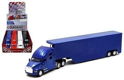 4 Kenworth Ranking TOP6 T700 Container Truck 1:68 Die NO Cast Metal Model De wholesale