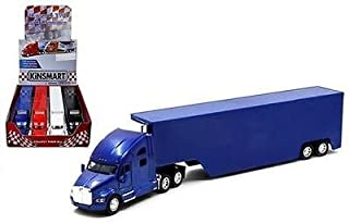 Set of 4: Kenworth T700 Semi Truck with Container Trailer 1:68 Scale (NO DECALS)