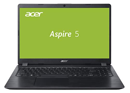 Acer Aspire 5 (A515-52G-53PU) 39,6 cm (15,6 Zoll Full-HD IPS matt) Multimedia Laptop (Intel Core i5-8265U, 8 GB RAM, 256 GB SSD, NVIDIA GeForce MX150 (2 GB VRAM), Win 10) schwarz