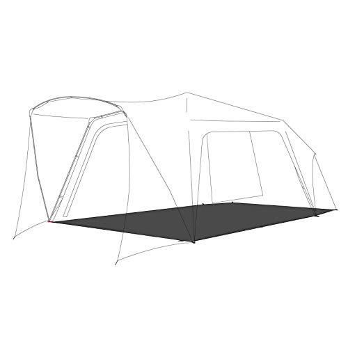 ドイツの本格派アウトドア・ブランドQEEDO<キィード>Quick Villa5 Pro用のグランドシート 耐水圧10000 mm 寸法420 x 360 cm湿気の侵入防止 底面損傷の防止 スチールペグ付き