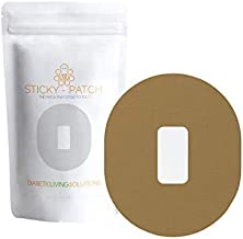 Dexcom Ultra-Strong Waterproof Adhesive Patches - 25 Patch Pack for G4 G5 G6 CGM Glucose Monitors - Safe & Convenient Sticky Tac Grip for Active Diabetics - Swimming, Running, Working Out Skin Tape