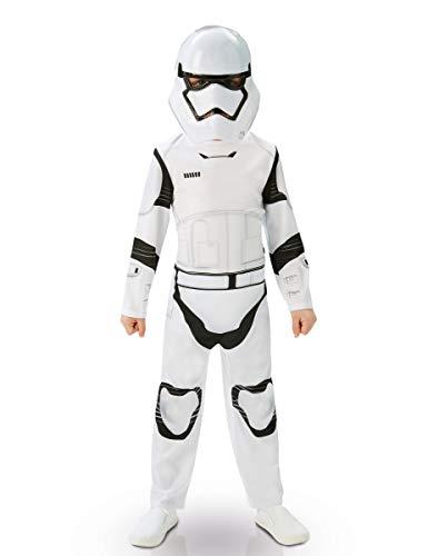 Star Wars - Disfraz de Stormtrooper, Episode 7, Classic, para niños (Rubie'S 620267-L)