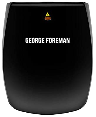 George Foreman 4-Portion Family Grill 18471 - Black