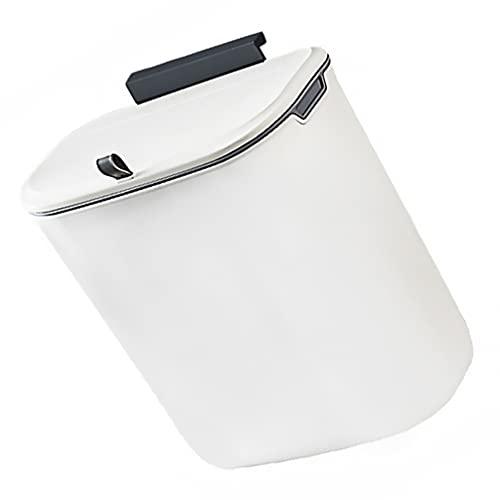 Cabilock 9L Hängender Mülleimer Küchenabfälle Auffangschale Abfallschale Küchen Abfalleimer Abfallbehälter für Küchenschrank Schranktür Auto Wohnzimmer Büro Camping Müll