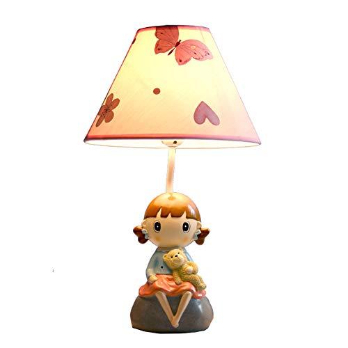 Notenstandaard, tafellamp voor kinderen, comic-LED-slaapkamerlamp, creatief, leuk, kleine meisjes, vlinder, oogbescherming, kantoor, lampen, jongens, roze