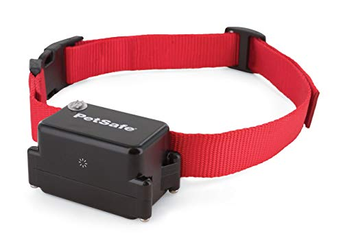 PetSafe, Collier supplémentaire pour chien têtu ou gros chien pour clôture anti-fugue avec fil, ajustable, imperméable, 5 niveaux de stimulation, pour chiens de +4 kg, pèse 142 gr.