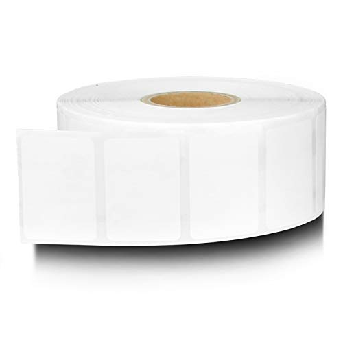 """OfficeSmartLabels ZE1115085 [ 1.25"""" x 0.85"""" ] Direct Thermal Labels, Compatible with Zebra Printers Postage Barcode Shipping Desktop Printer Sticker - 10 Rolls / 1"""" Core"""