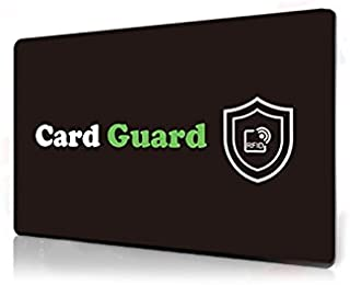 RFID Credit Card Protector/Card Guard Anti Skimming Credit Card Blocker/Passport Data Protector