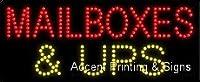 メールボックス& Ups LEDサイン( High Impact、エネルギー効率的な)