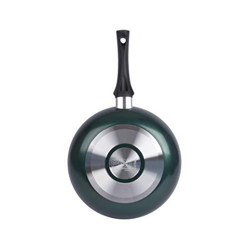 Sartén Tirreno Aluminio, Negro/Verde, 26 cm