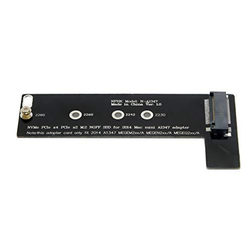 M.2 NGFF M-Key NVME SSD Konverterkarte für 2014 MacMini A1347 Megen2 Megem2 MEGEQ2…