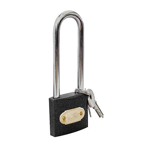 WXYZ candado Llave Hierro Llave del Candado, Usado Maleta Locker Almacén De Bloqueo De Seguridad, Bloqueo Anchura De Cuerpo 32mm38mm, 3 Claves (Size : 32x92.2mm)