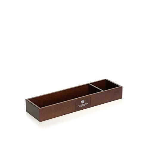 Porta penne orizzontale + clip   Spalding & Bros. Wooden   250101-Testa Moro