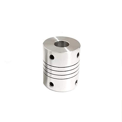 flexible couplings Fevas Flexible Shaft Coupling CNC Stepper Motor Coupler Connector D25L30 5mm 6mm 6.35mm 7mm 8mm 9.5mm 10mm 12mm