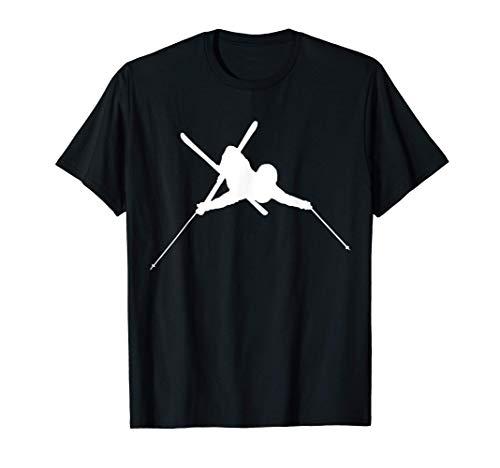 Esquí Freestyle Esquiador Slopestyle Esquí Freeride Camiseta