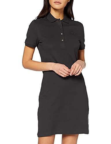 Lacoste EF5473 Vestido, Black, 44 para Mujer