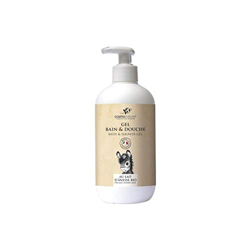 Cosmo Naturel Gel bain douche au lait d'ânesse + HE 500ml