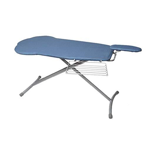 C-J-Xin Naaien Shop strijkplank, Verruim Metal strijkplank Schouder Vorm strijkplank, met mouwen van Commissarissen en Storage Rack, Blue Wasserijbenodigdheden (Color : Blue, Size : 100 * 46 * 90CM)
