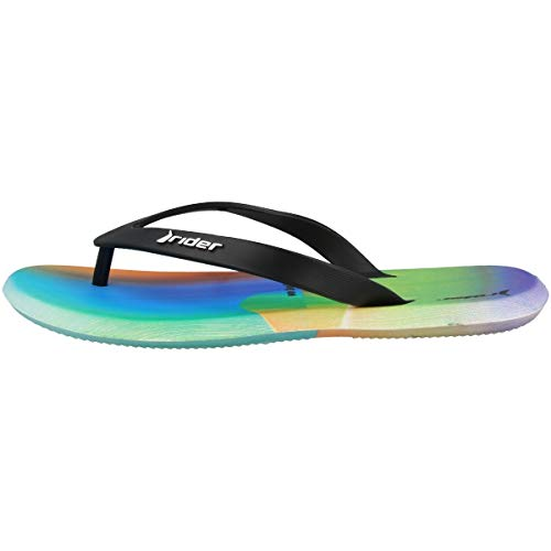 Rider R1 Energy 360 Ad, Chanclas Hombre, Multicolor Blue Lilac Black 9281 0, 39/40 EU
