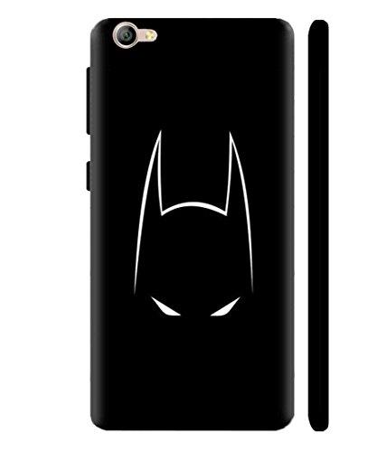 Sibu Print A DC Comic Hero Bat Man Cartoon Character New White and Black Combination Denger Eyes Designer Printed Polycarbonate Matte Finish Hard Back Case Cover for Lenovo Zuk Z2 Plus