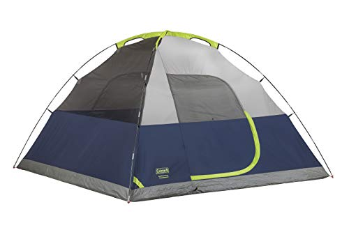 31Uz27LXNuL - Coleman 4-Person Dome Tent for Camping | Sundome Tent with Easy Setup