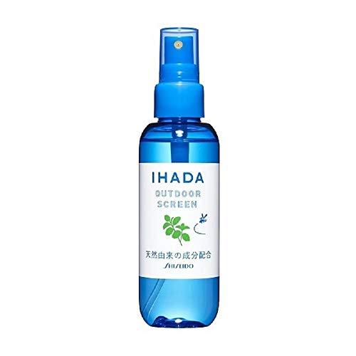 資生堂薬品イハダアウトドアスクリーン香りのバリアで虫を寄せ付けないスプレーディート無配合天然由来の成分配合125ml約830回分