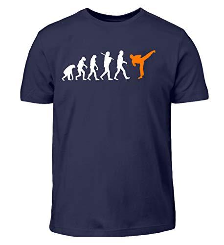Evolution Kampfsport Shirt für Herren, Damen und Kids Darwin MMA Boxen Karate Kickboxen K1 - Kinder T-Shirt