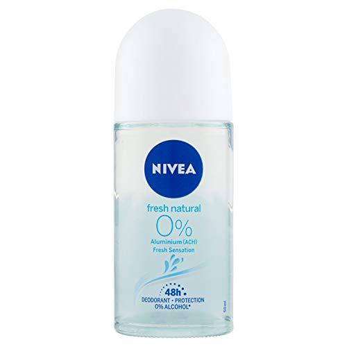 Nivea Roll On Fresh Natural Desodorante Sin Aluminio, 50ml