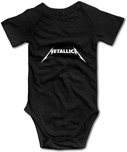 Yangg Metallica - Body unisex para bebé, manga corta, para verano, para niños y niñas