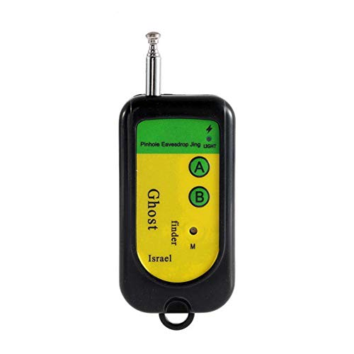 Kooshy Détecteur RF, détecteur RF sans Fil caché Anti-Espion, détecteur de Signal sans Fil détecteur de périphérique GSM pour Bureau, Entreprise, hôtel, Maison