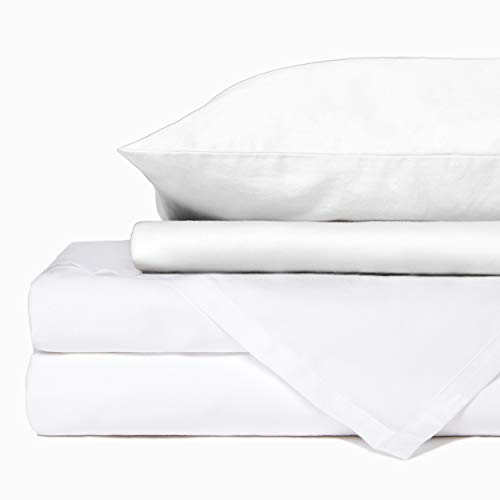 Looma Ultra-Soft 100% Organic Cotton Sheet Set, 300 Thread Count Long...