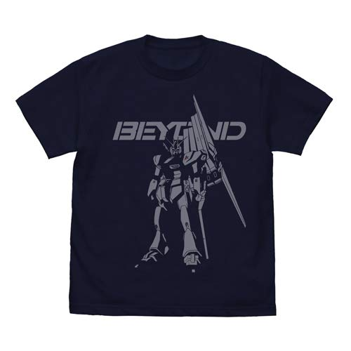 機動戦士ガンダム 逆襲のシャア νガンダムBEYOND Tシャツ ネイビー Lサイズ
