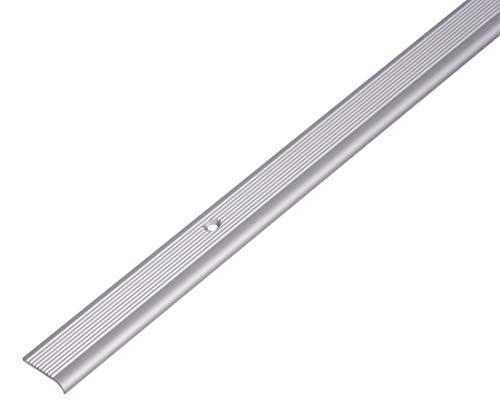 GAH-Alberts 476953 Treppenkanten-Schutzprofil - Aluminium, silberfarbig eloxiert, 1000 x 23 x 5 mm