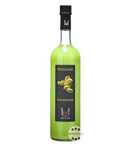 Villa Laviosa: Panna e Pistacchio Pistazienlikör / 17% Vol. / 0,7 Liter-Flasche