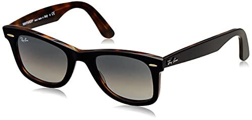 Ray-Ban 0RB2140 Gafas de Sol, Top Grey On Havana, 50 Unisex