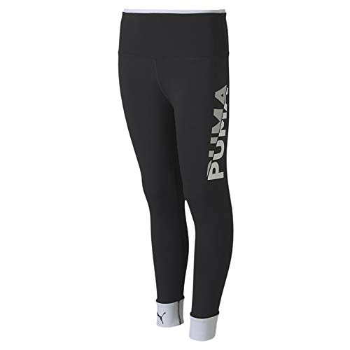 PUMA Mädchen Leggings Modern Sports G, Puma Black-Puma White, 140, 583326