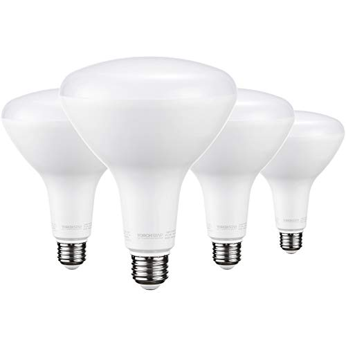 TORCHSTAR BR40 LED Bulb, Dimmable, 17W (100W...
