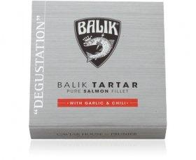 Balik Tartar mit Knoblauch & Chili