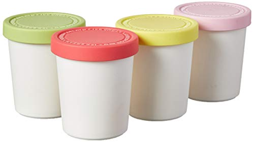 Easy Stacking Reusable Ice Cream Containers