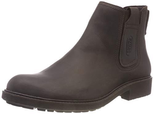 camel active Herren 15 Chelsea Boots, Braun (Mocca 1), 43 EU (9 UK)