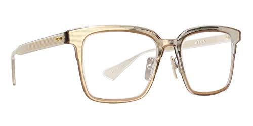 Eyeglasses Dita POLYMATH DTX 101 02 Crystal ClearCrystal Brown