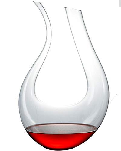 RXM wijnpul van glas, handgemaakt, rode wijn, inhoud 1 - 1,5 l