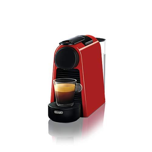 De\' Longhi EN 85.R Macchine del caffè Essenza Mini Nespresso, 1370 W, 1 Cups, Plastica, Rosso