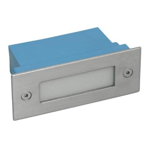 5er-Set Wandeinbaustrahler LED 230V Wandlampe Warm-Weiß