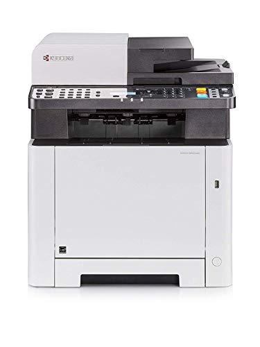 Kyocera Klimaschutz.System Ecosys M5521cdn Farblaser Multifunktionsdrucker. Drucker, Kopierer, Scanner, Faxgerät. Inkl. Mobile-Print-Funktion. Amazon Dash Replenishment-Kompatibel