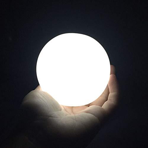 XHSHLID Mini Ronde Led Maanlicht Gift Maan Lamp Hoge Heldere Nachtlampje LED Tafellamp Decoratie Voor Kinderen Baby Kamer Reizen