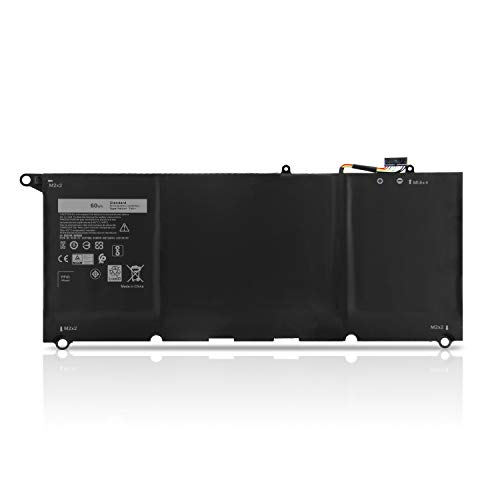 K KYUER 7.6V 60Wh PW23Y Laptop Battery Replacement for Dell XPS 13 9360 13.3' InfinityEdge P54G002 13-9360-D1605G 13-9360-D1605T 13-9360-D1609 13-9360-D1609G 13-9360-D1705G TP1GT RNP72 0RNP72 0TP1GT