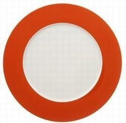Villeroy & Boch Wonderful World - Plato llano (30 cm), color naranja