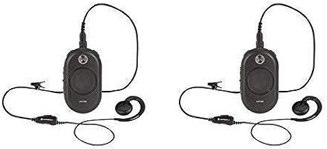 2 Pack of Motorola CLP1040 4 Channel 1 Watt Two-Way Business Radio